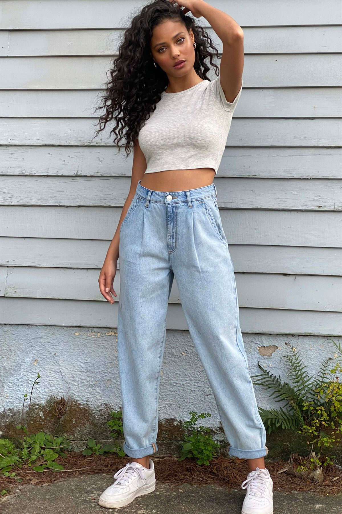 Mom Jeans Vintage 80/'s Size Small