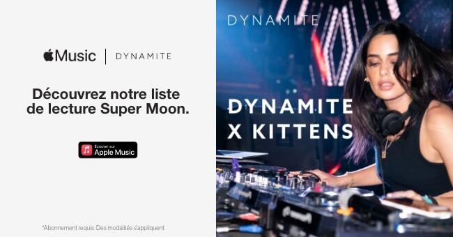 Dynamite par Kittens Super Moon playlist Apple Music