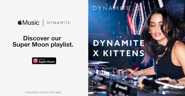 Listen to Dynamite by Kittens Super Moon playlist on Apple Music