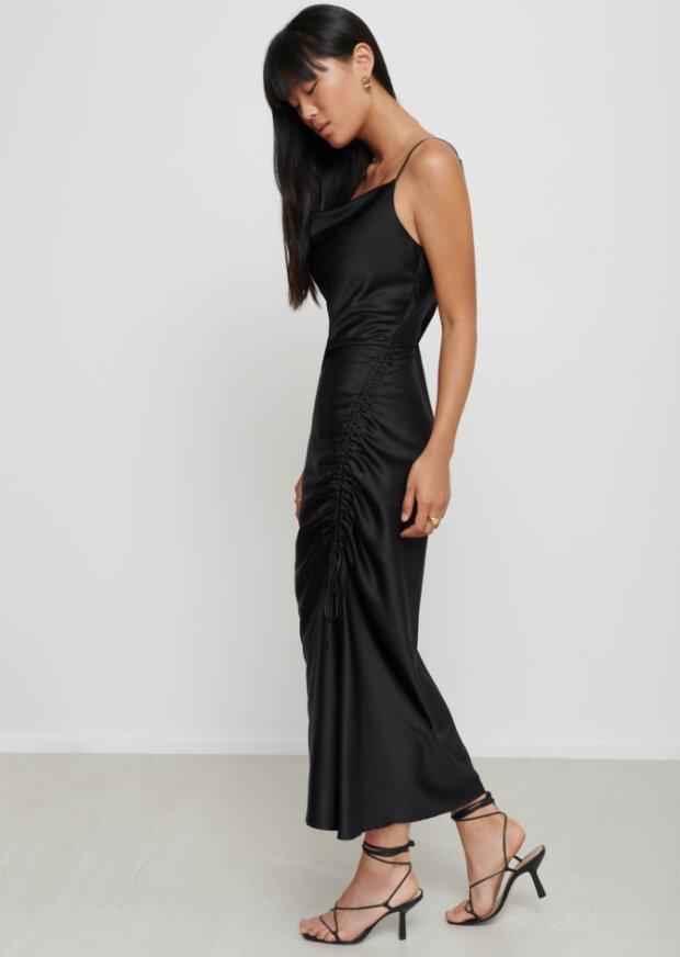 balloon-sleeve-dress
