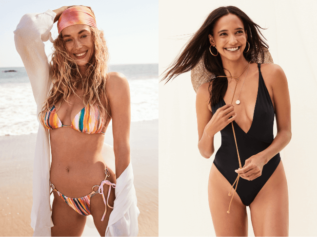 summer swimwear.